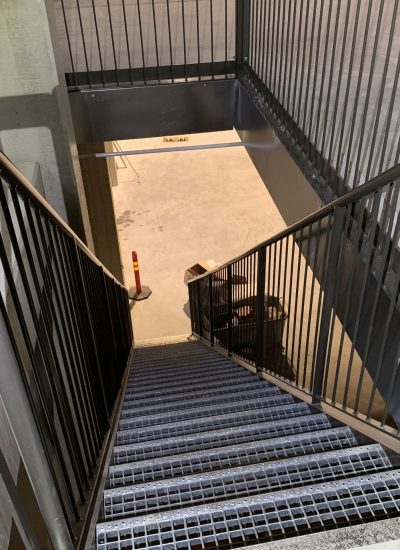 Teräskaiteet, portaat, Alfaroc